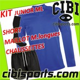 PROACT kit juniors manches longues PA.RUGBY ML junior (maillot + short + chaussettes)