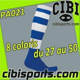 SOCCER chaussettes FOOT-BALL unies Réf.CE0491