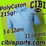 587.52 kid'S POLO POLYCOTON