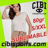 "T-shirt polyester ""toucher coton"" FEMME SUBLIMA MUJER Réf.CA7130"